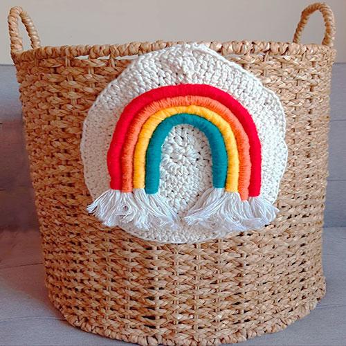 Cesta-Tassel-Rainbow